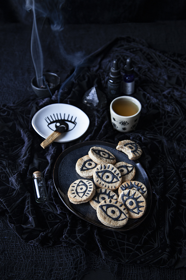Biscuits mauvais oeil pour Halloween