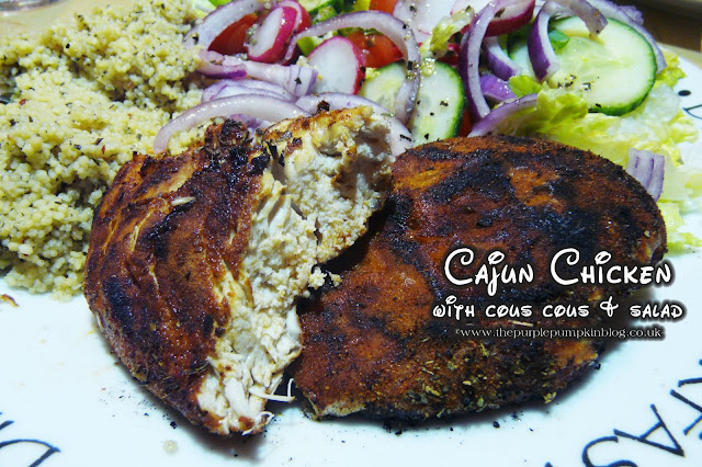 Cajun Chicken Recipe | The Purple Pumpkin Blog