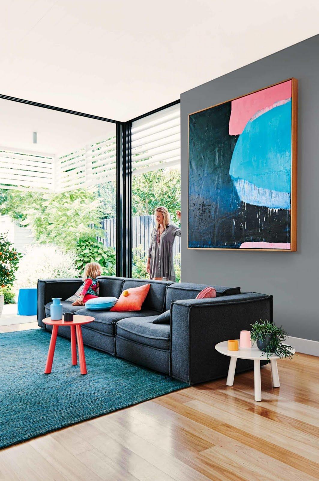 La Maison Jolie How To Choose A Rug For Your Living Room
