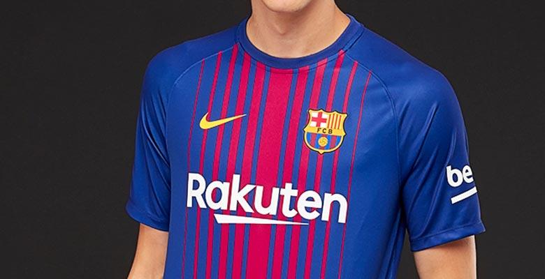 5ca83513fc3 40 - Nike Barcelona 17-18 Breathe Home Shirt Revealed - Footy Headlines