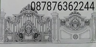Pintu Pagar Besi Tempa Klasik Mewah Pagar Balkon Besi Tempa Klasik