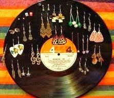 Manualidades reciclaje manualidades con discos de vinilo - Manualidades con discos ...