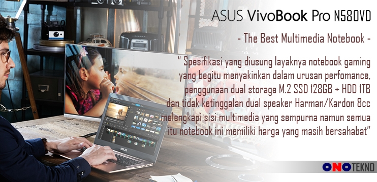 "THE BEST 10 NOTEBOOK ASUS 2017 "" ASUS VIVOBOOK PRO N580VD """