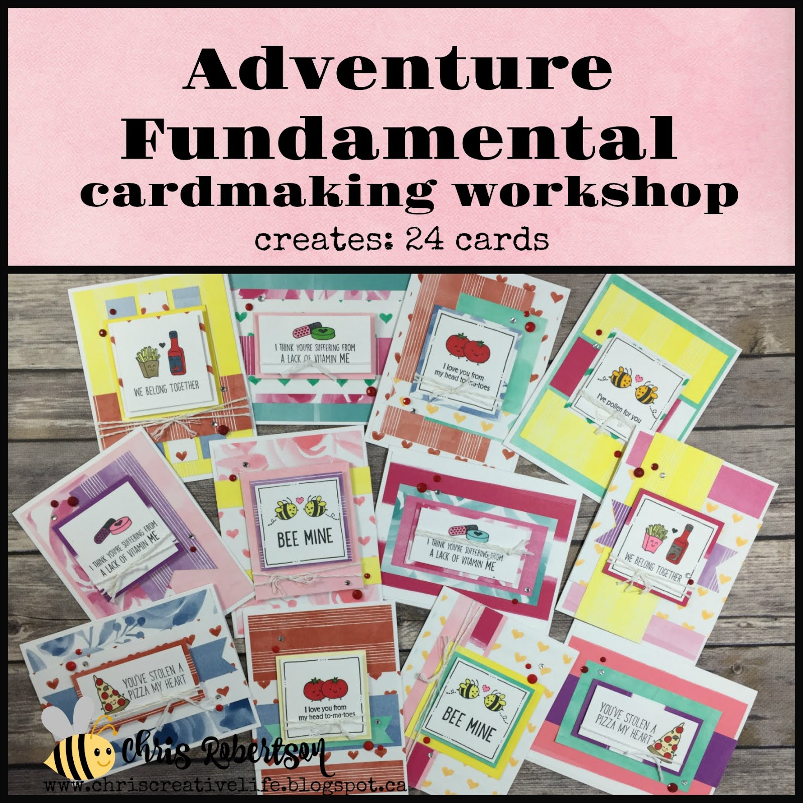 Adventure Cardmaking Workshop