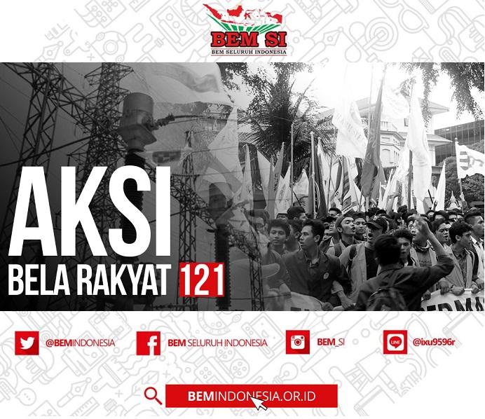 BEM Seluruh Indonesia Serukan Reformasi Jilid 2 Lewat Aksi Bela Rakyat 121 Dan Menjadi Viral Disosial Media