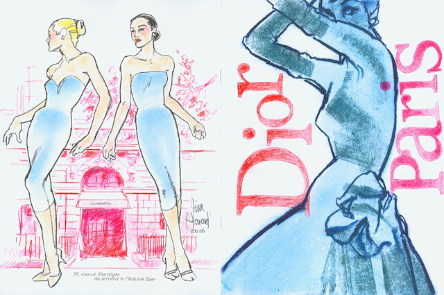 Dior Paper Doll by Jim Howard