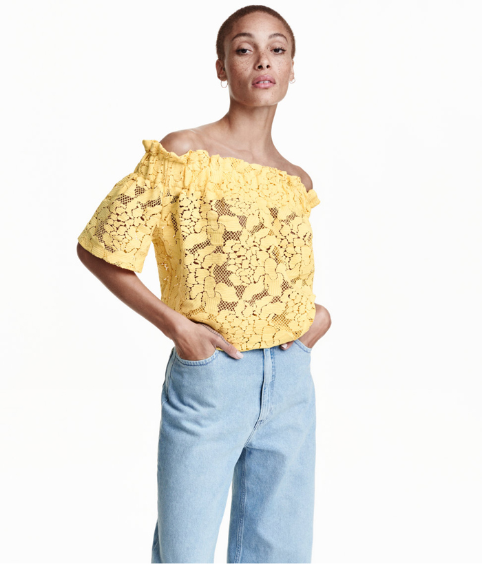 Off The Shoulder Top H&M