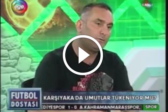 Karşıyaka Taraftarlar Derneği Başkanı Okan Kırmacı dün akşam Ege Tv'de yayınlanan Futbol Dosyası programına konuk oldu.