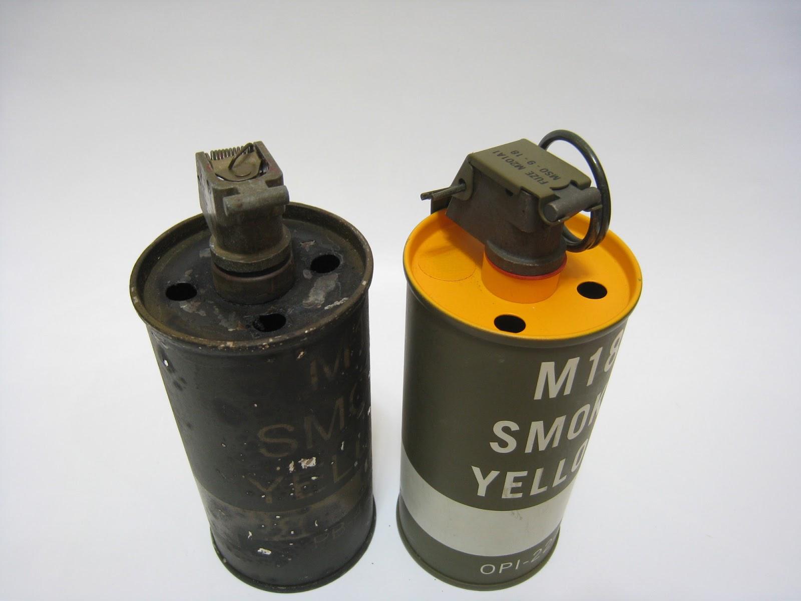 SAIGON LOGISTICAL: ORIGINAL & REPLICA - M18 SMOKE GRENADE