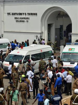Αιματοκύλισμα στη Σρι Λάνκα: Οκτώ εκρήξεις