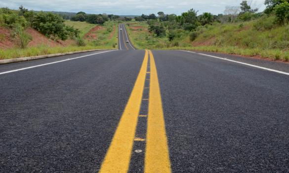via asfaltada