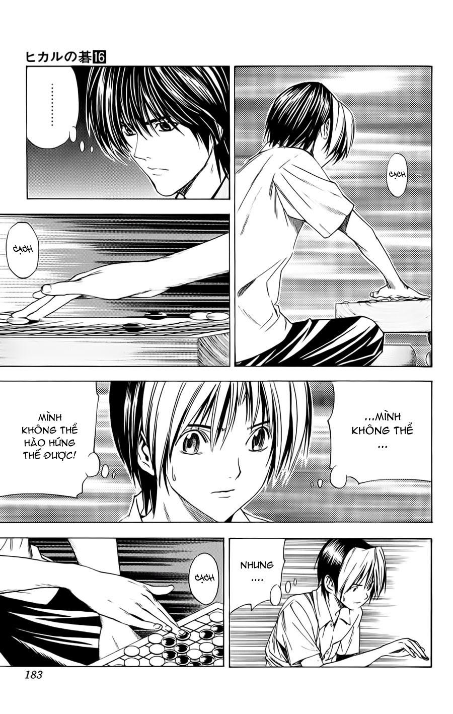 Hikaru No Go hikaru no go chap 139 trang 12