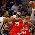 NBA: Pelicans arrollan a Spurs y mejoran posición en el Oeste