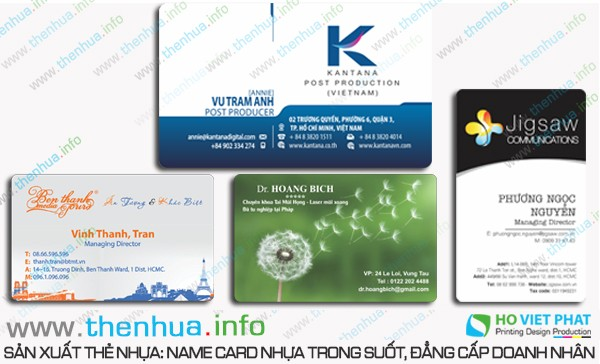 Cung cấp dịch vụ in ấn thẻ nhựa chất lượng giá rẻ