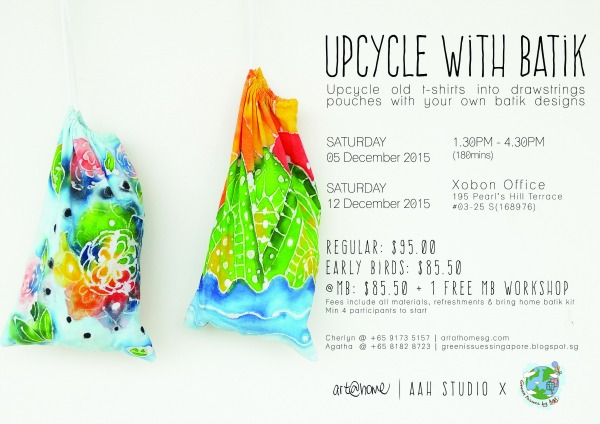 DIY batik upcycling workshop