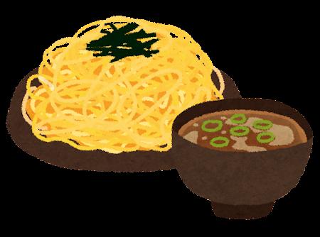 つけ麺のイラスト