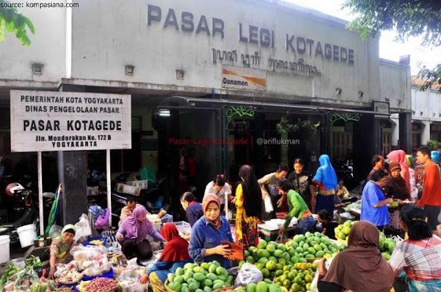 Pasar tradisional tertua Kotagede