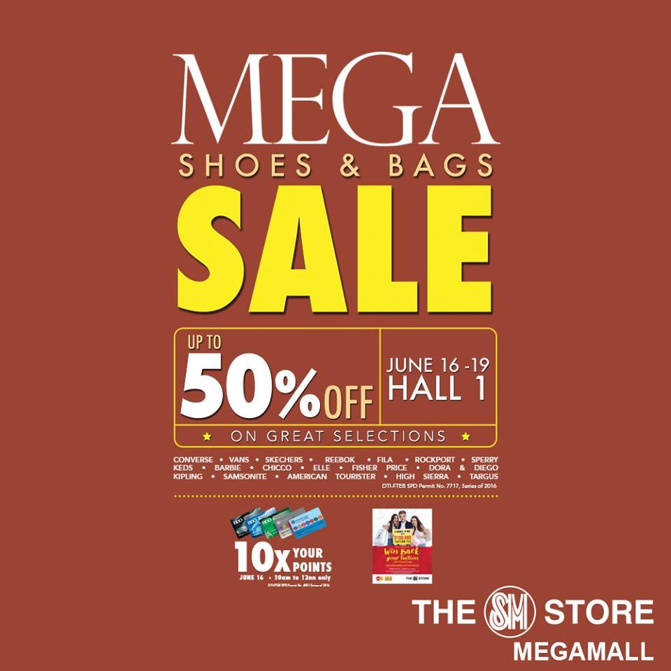 d9d23b1b1ba4 Manila Shopper  Mega Shoes   Bags SALE at SM Megatrade  June 2016