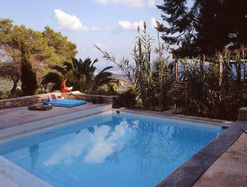 casa rústica en la isla de Ibiza