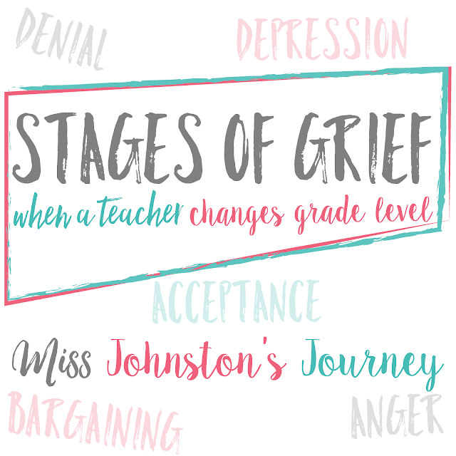 Changing grade levels as a teacher isn't easy, whether it is by choice or not. Read to anticipate the stages you may go through and some advice to help you cope.