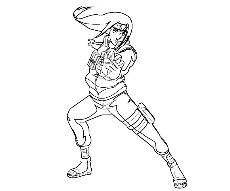 Neji Coloring Pages Coloring Pages