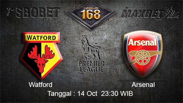 PREDIKSIBOLA - PREDIKSI TARUHAN BOLA Watford vs Arsenal  14 OCTOBER 2017 (EPL)