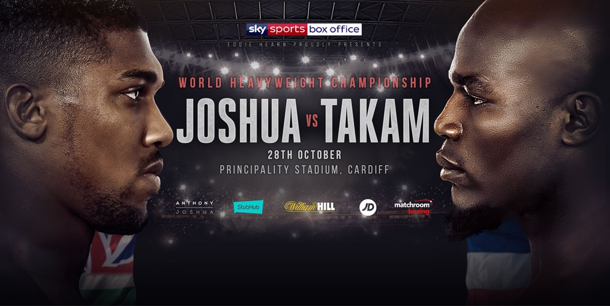 ANTHONY JOSHUA VS CARLOS TAKAM 8