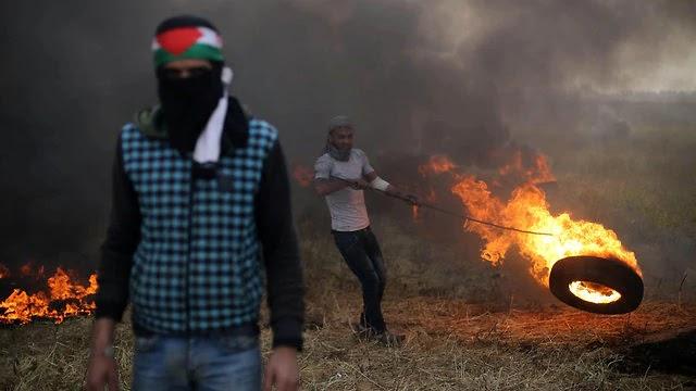 """Mitos e Fatos dos """"Protestos"""" em Gaza Contra Israel"""