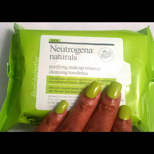 Neutrogena Naturals #WipeForWater | A Polished Mother