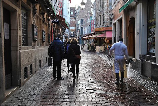 Rumlatschen in Brüssel
