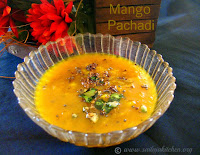 images for Mango Pachadi Recipe / Manga Pachadi Recipe / Mango Sweet Pachadi Recipe / Maangai Pachadi Recipe