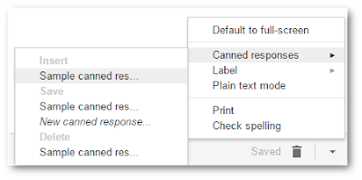 Save time in Gmail with canned responses