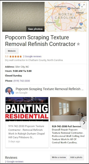 Cosmetic Superficial Touch-UP Pittsboro Drywall