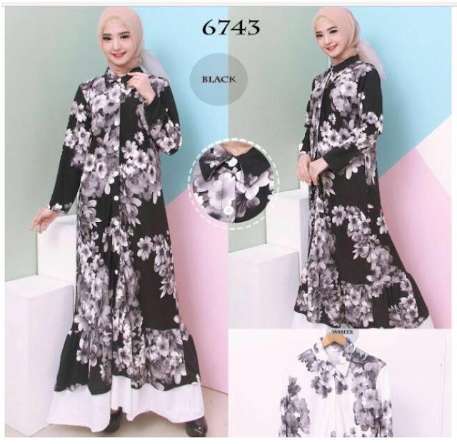 Model Baju  Gamis  Modern Dan Terbaru Di Toko Online Lazada