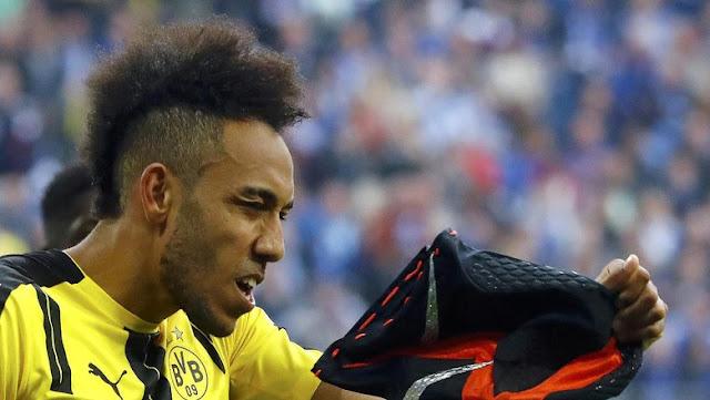 Soal Topeng, Aubameyang Disebut Bodoh oleh Kapten Dortmund