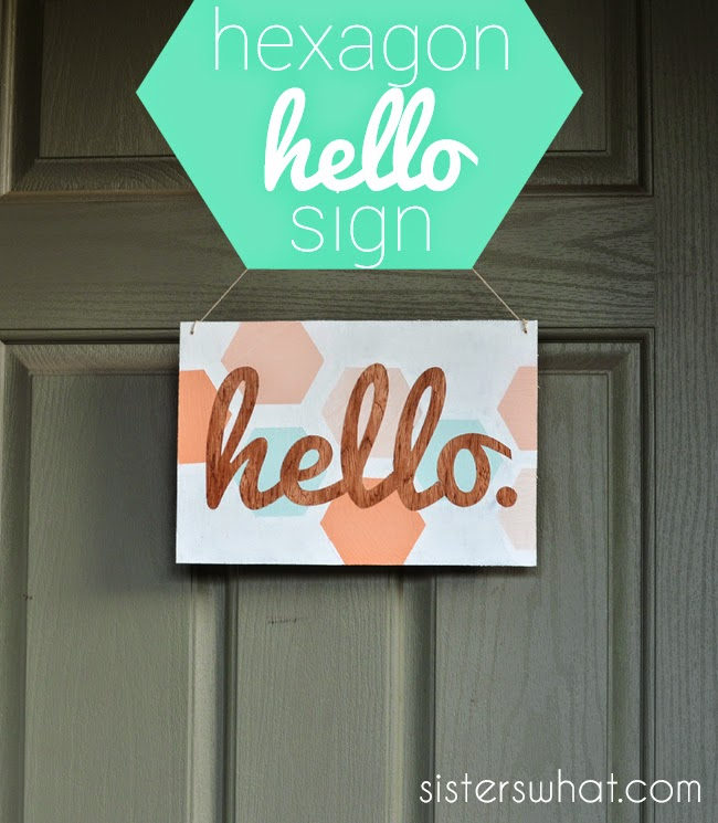 how to make a welcome sign