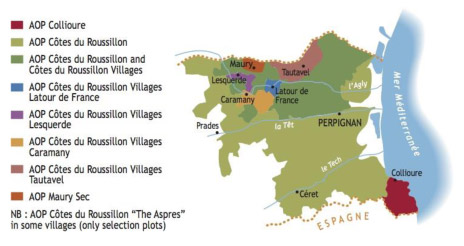 Wine Appellations of Roussillon