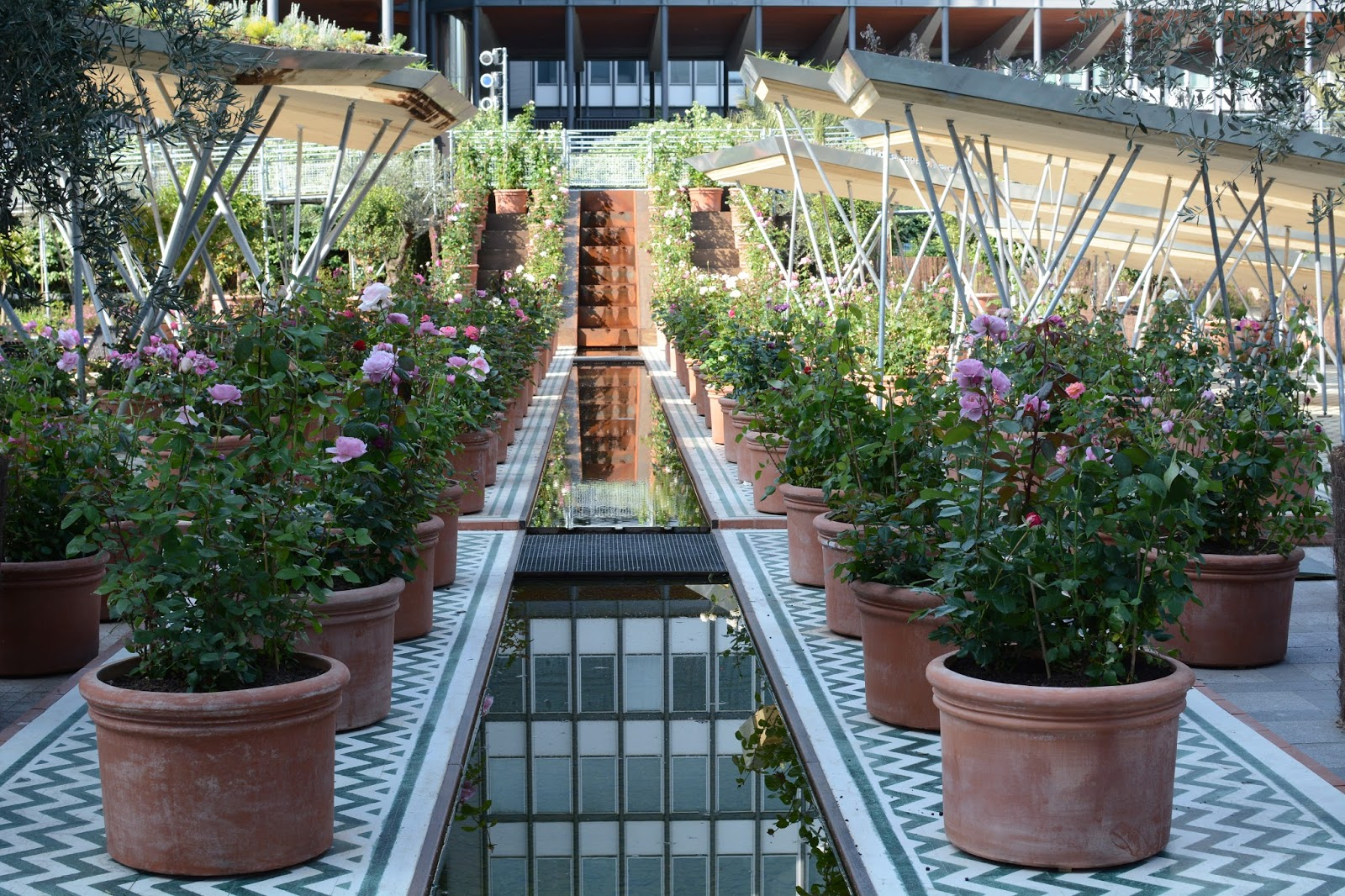 Positive Eating Positive Living Jardins Dorient A Linstitut Du - Jardin-arabe