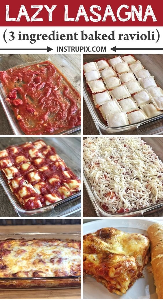 Easy Ravioli Bake Recipe