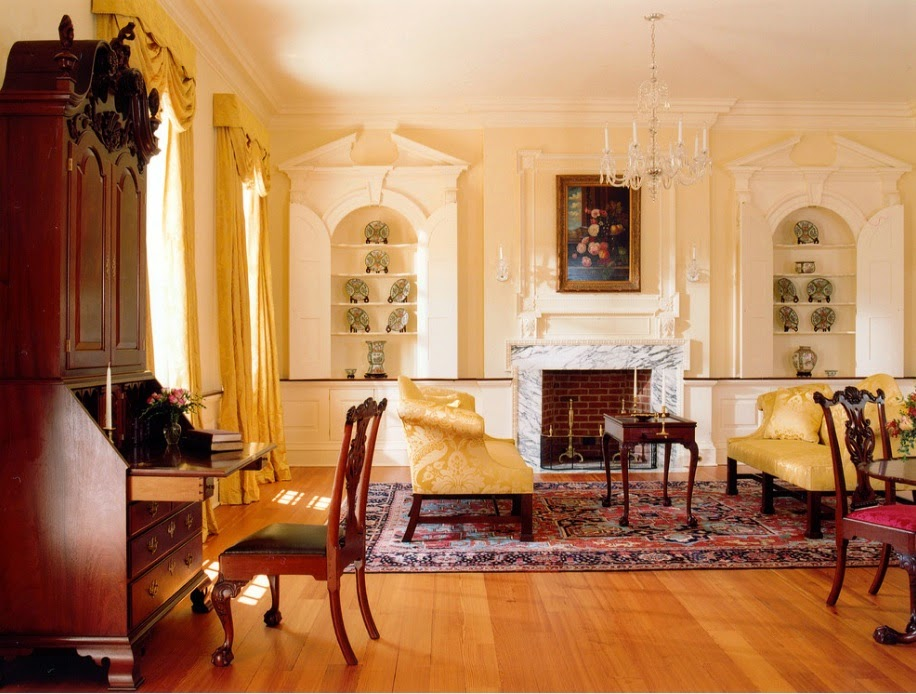 A Georgian Colonial Home Interior Design Ideas