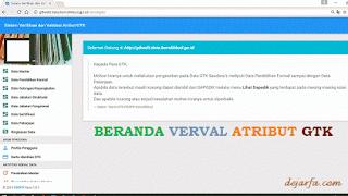 Beranda Verval GTK Kemdikbud dejarfa.com