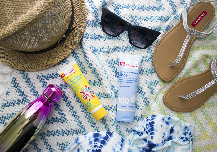 Apply, Repeat, Protect - Being Skin Smart With Walgreens Brand Suncare!