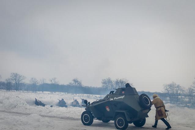 Реконструкция боя при Соколово 9.03.2018 - 22