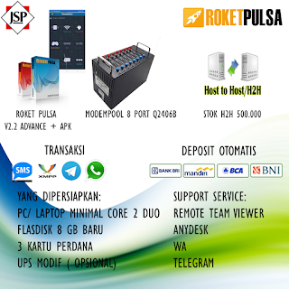 Jasa Server Pulsa PPOB dan Aplikasi Android