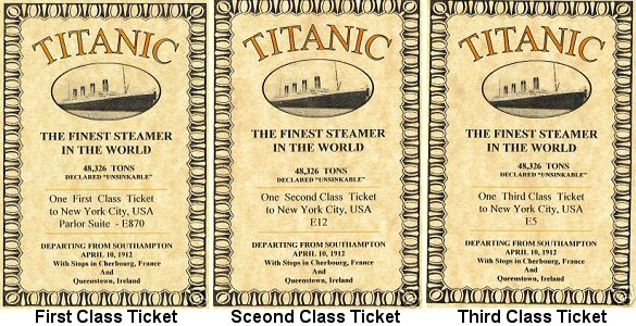 torrent world titanic ship tickets. Black Bedroom Furniture Sets. Home Design Ideas