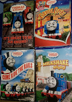 Thomas Tank Engine Friends dvds Carnival Capers Milkshake Ride Rails PBS