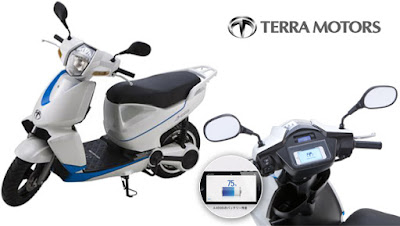 New Terra A4000i Electric Scooter image