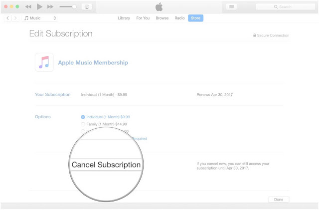 App Store Subscription اب ستور ماك