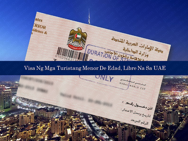 UAE Gives Free Visa For Children Below 18 Years Old