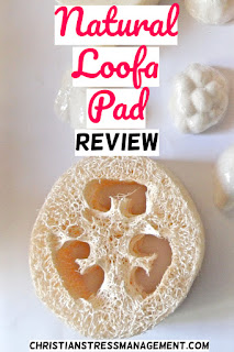 Natural loofa pad review